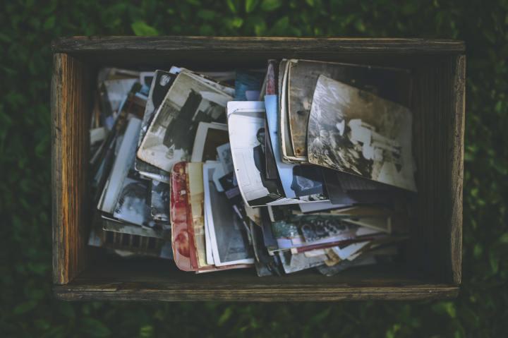 A box, tuckedaway